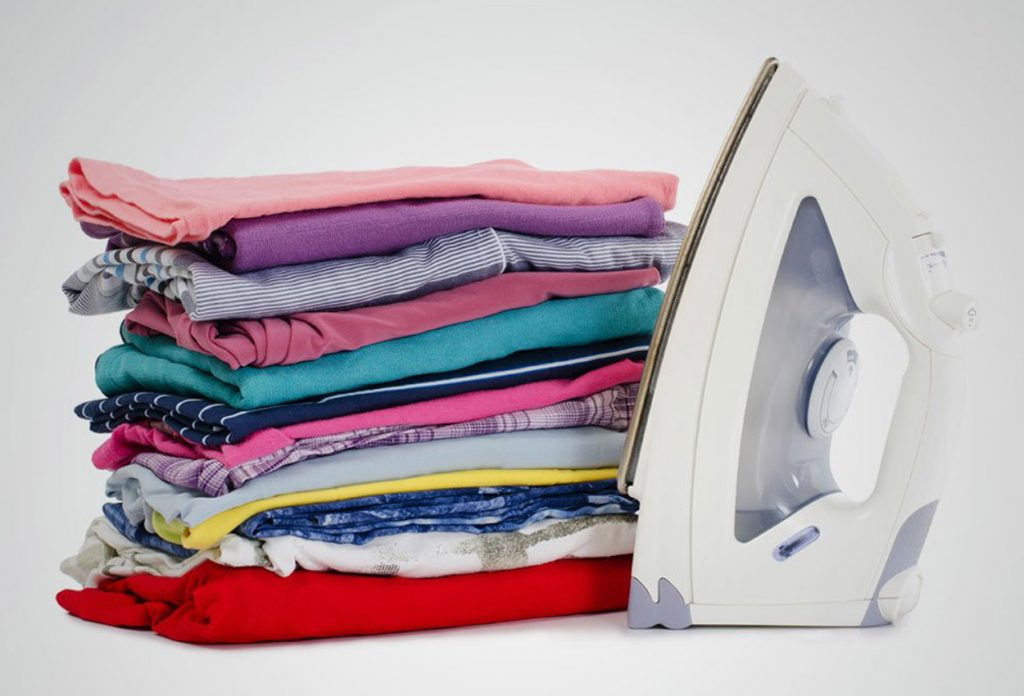 We can iron your washed clothes